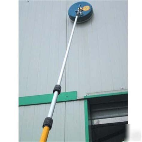 pressure washer wall surface cleaner telescoping wand