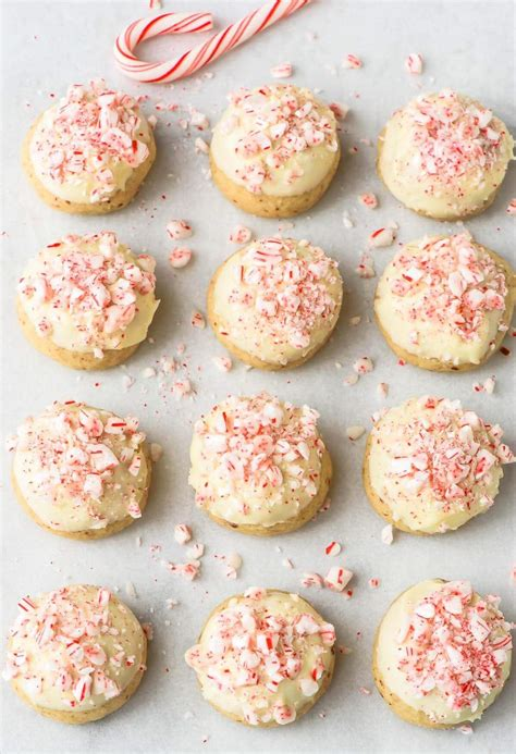 candy cane recipe snowball cookies with white chocolate chips