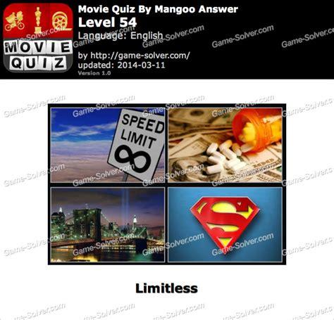film quiz level 54 movie quiz mangoo level 54 game solver