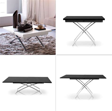 Coffee Table Converts To Dining Table Convertible Tables Smart And Modern Solutions For Small Spaces