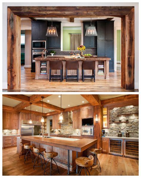 mod鑞e de cuisine moderne id 233 es de d 233 co pour une cuisine de style moderne rustique