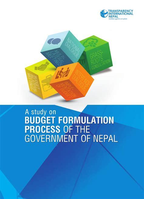 Nepal On A Budget by A Study On Budget Formulation By Tinepal Issuu