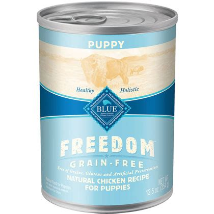 blue buffalo canned puppy food blue buffalo freedom canned puppy food 1800petmeds