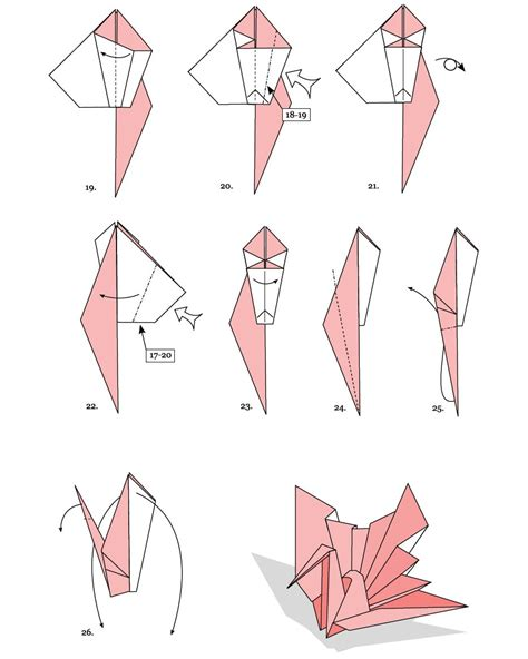 How To Make A Paper Swan Steps - fabulous origami swans 2018