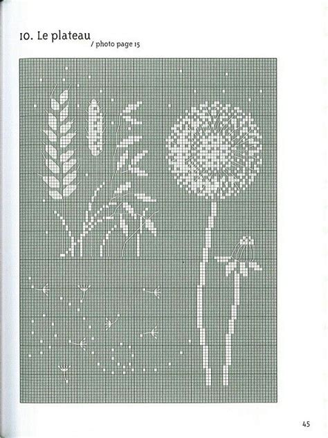 Painting Cross Stitch Ter Murah 19 dandelion and wheat etc to make