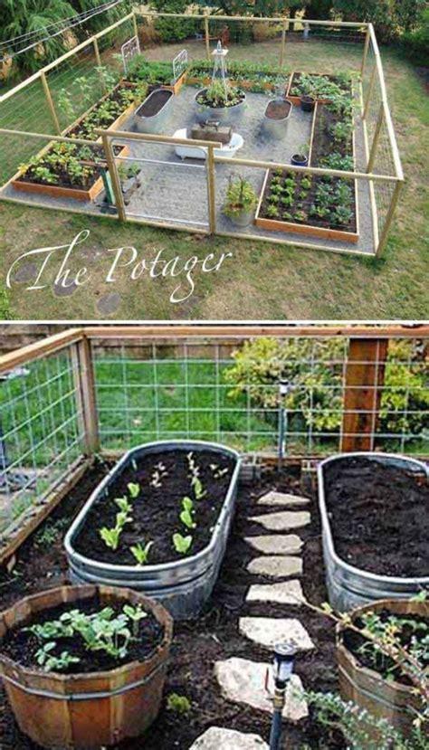 affordable backyard vegetable garden designs ideas