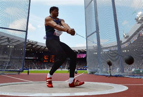 Narayan in final of hammer throw, Om Prakash 6th in shot put   Commonwealth Games 2014 News
