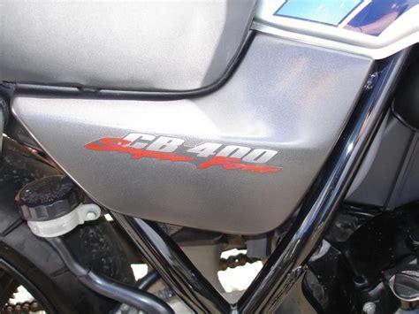 Honda Cb400 Super Four Hyper Vtec 2000 W Reg Rare Bike