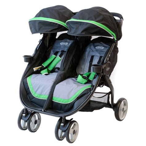 strollers with two car seats side by side graco fastaction fold duo review babygearlab
