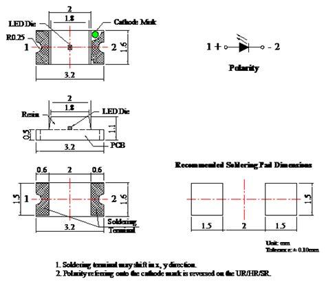 ir diode range ir 940 880 850nm infrared emitting diode for tyntek infrared chip led 1206 package