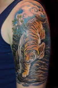 soul inn house tattoo tiger sleeve tattoo