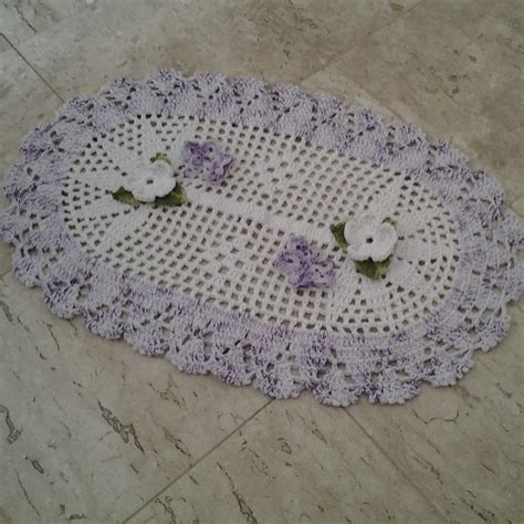 tapetes de croche b43964 tapetes de crochaa pictures to pin on tapetes de croch 234 em barbante tapetes artesanais elo7