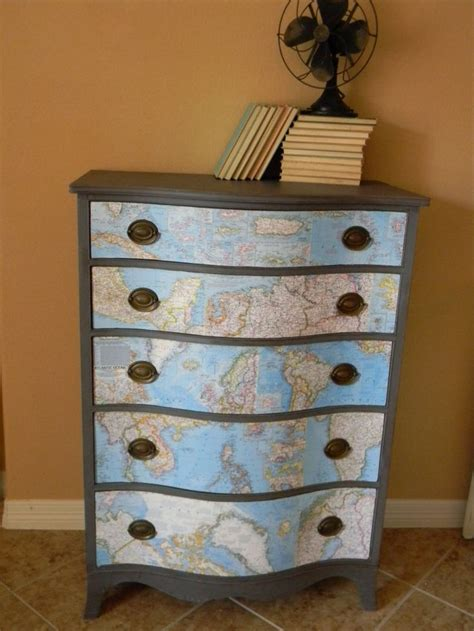 Decoupage Dresser - 17 best images about crafty works decoupage on