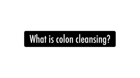 What Is A Detox Specialist by Colon Cleansing