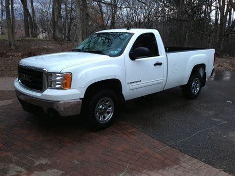 find used 2007 gmc 1500 sle standard cab 2