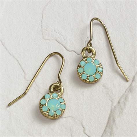 pacific opal drop earrings world market