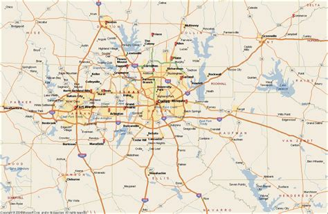 dfw metroplex map dallas fort worth metroplex map