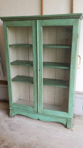 chalk painted bookcase my creations pinterest