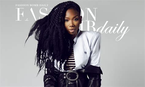brandy artist in braids brandy covers fashion bomb daily magazine in honor of