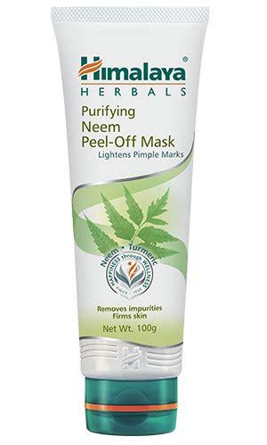 Masker Himalaya Herbal purifying neem peel mask by himalaya herbals