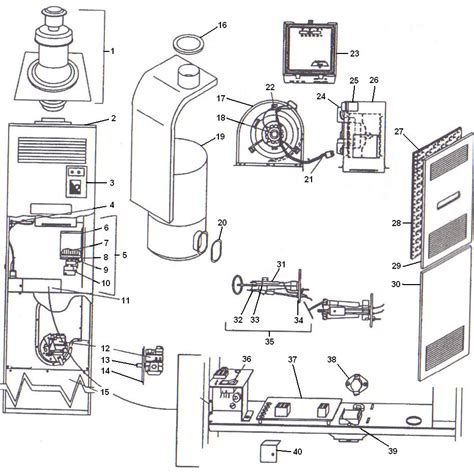 coleman mobile home furnace schematics quotes