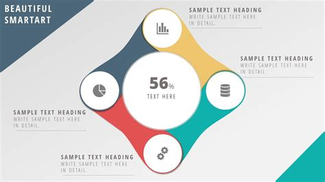 smartart powerpoint templates amazing smartart template for dashboard in presentation