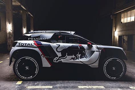 brand new peugeot peugeot unveils new rallye raid contender the 3008 dkr