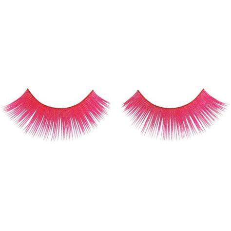 Statement False Eyelash neon pink false eyelashes color me bohemian fashion