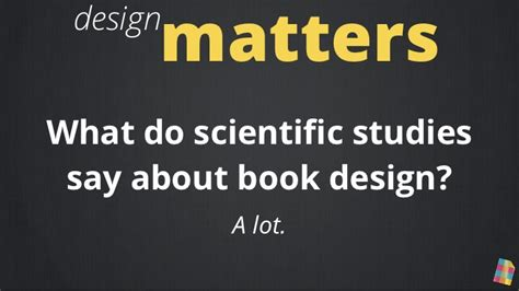 typography matters does design matter do book covers affect sales