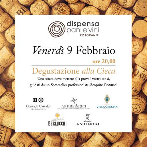 dispensa pani e vini blind tasting dispensa pani e vini franciacorta