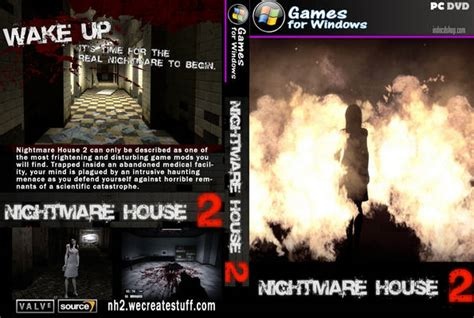 nightmare house 2 nightmare city dvd disc cover id4588 covers resource