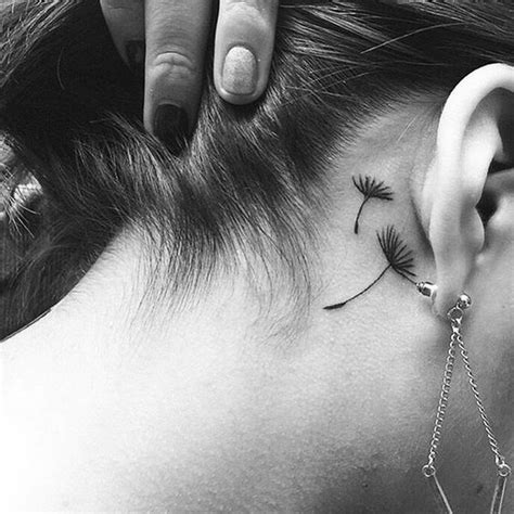 small tattoos behind ear 60 pretty designs of ear tattoos 2017