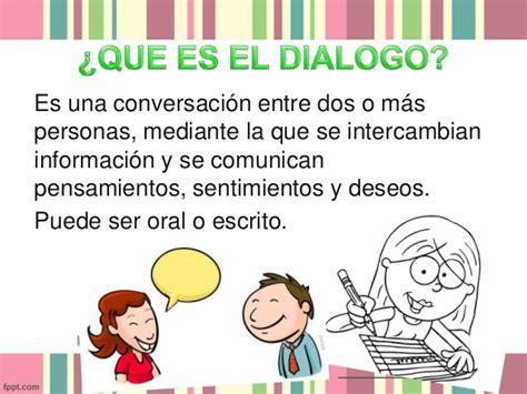 reglas de dialogo