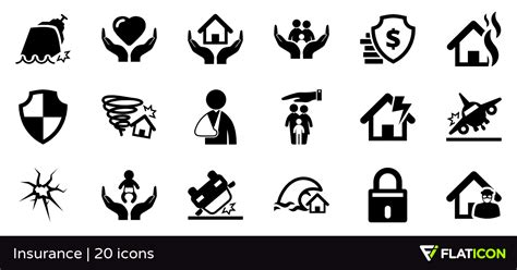 Home Design Guide by Insurance 20 Premium Icons Svg Eps Psd Png Files