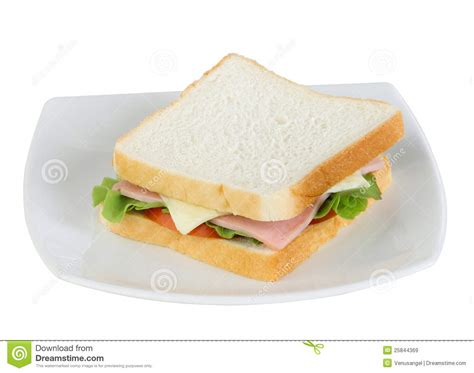 ham cheese sub sandwich ham and cheese sandwich stock image image of leaf food