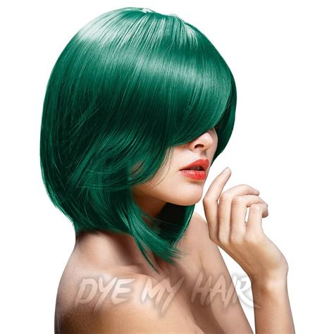 permanent hair dye color green directions alpine green semi permanent hair dye la riche