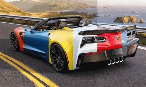 corvette colors corvette paint colors images