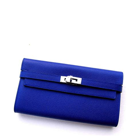 Hw Electric Blue hermes blue electric epsom wallet phw adore at