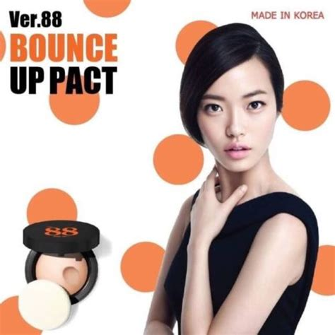Make Up Ver 88 ver 88 bounce up pact spf50 pa thailand best selling products shopping