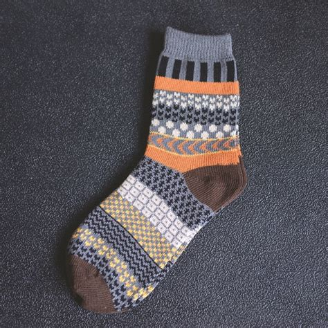 knitting pattern mens socks vintage pattern knitted jacquard fashion men socks dealsel