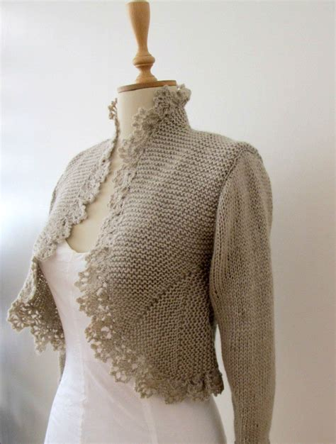 hand knit sweater knitting knitted cardigan by