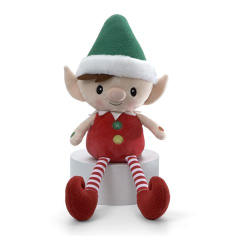nwt gund peppermint elves magic messenger record able 11