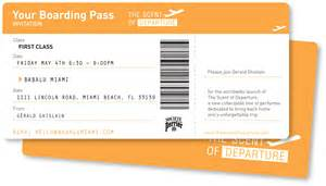 boarding pass the scent of departure launch at babalu miami boarding time babalubuzz