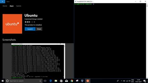 install windows 10 with ubuntu how to install ubuntu and opensuse leap from windows store