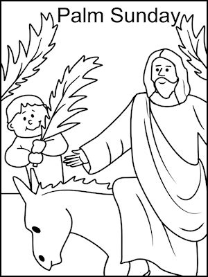 free printable easter coloring pages for sunday school sunday school coloring pages palm sunday