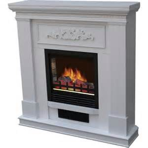 electric fireplace with 38 quot mantle white walmart