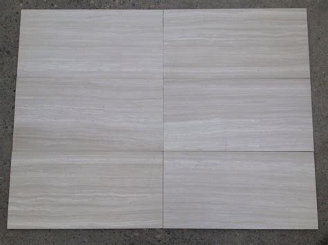 white wood grain tile