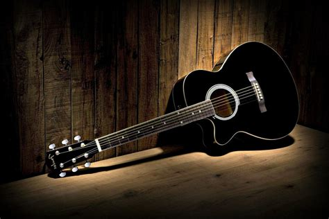 guitar wallpaper black and white hd black guitar wallpaper photos 58787 1500x1000 px