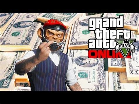 Gta Online How To Make A Lot Of Money - gta 5 online rank up make money fast gta v майнкрафт видео