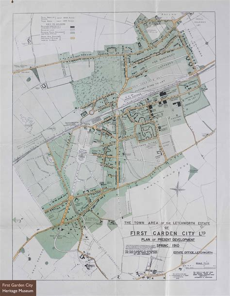 Garden City Map Maps Of Letchworth Nen Gallery